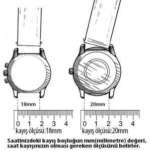 saat kayışı ölçü belirleme