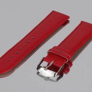 IMG 0346 kırmızı dikisli deri saat kayisi
