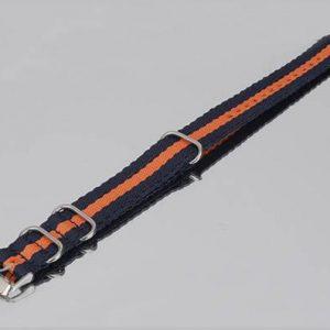 IMG 30051 turuncu lacivert nato örgü bez saat kayışı