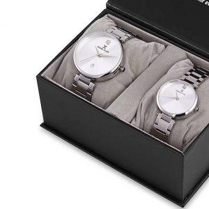 Daniel Klein Saat bklv silver silver beyaz düz saatevi 7