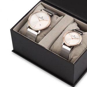 Daniel Klein Saat hasır silver silver bronz bilezik beyaz saatevi 1