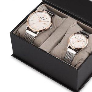 Daniel Klein Saat hasır silver silver bronz bilezik beyaz saatevi 11